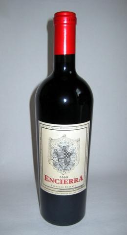 Encierra Vineyard Reserve 2009
