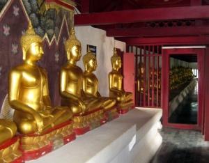 100 Buddhas in Phitsanoluk
