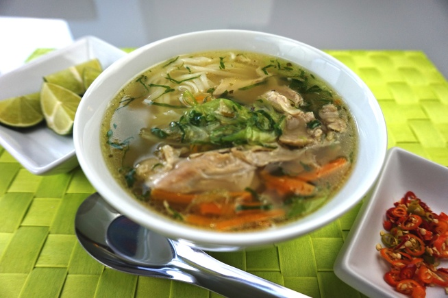 Hühnersuppe 'Saigon'