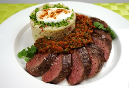 Lamm Magreb mit Harissa-Salsa