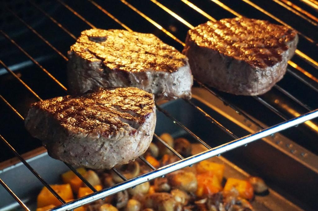 Steaks im Ofen