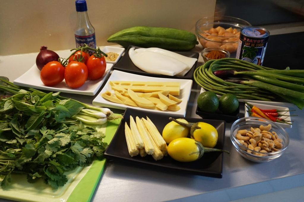 Ingredients Thai food