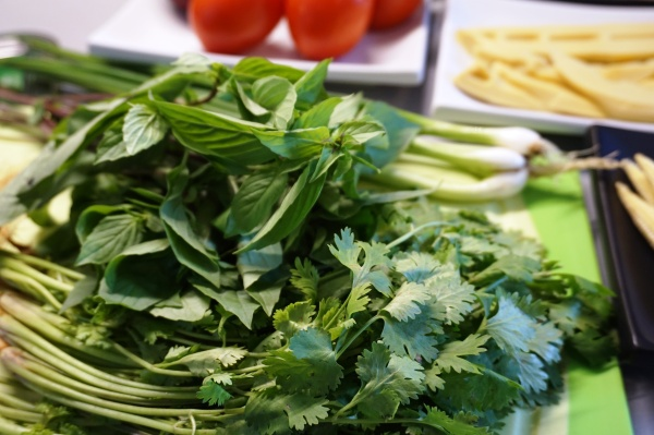 Bai Horapa & Asian Parsley