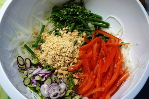Somtam Salat Mischung