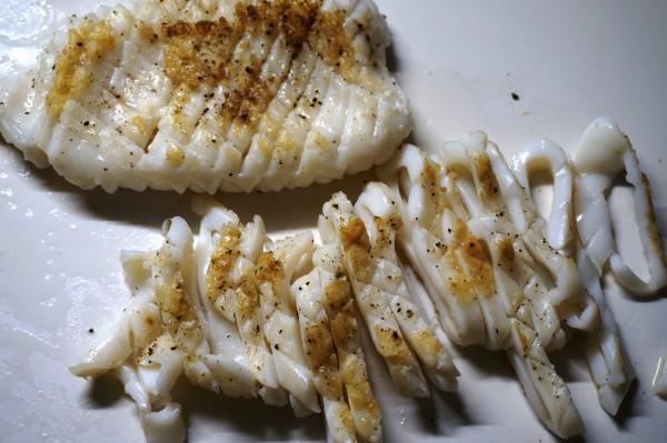 Calamari gegrillt Plah Muek