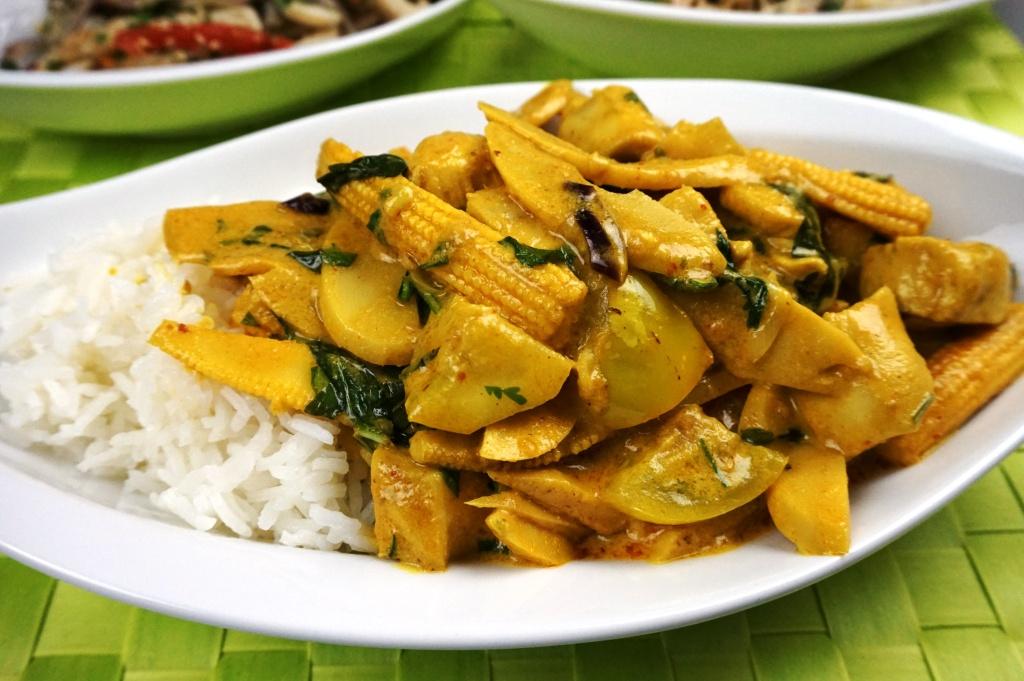 Gelbes Thai-Curry Kaeng Kari