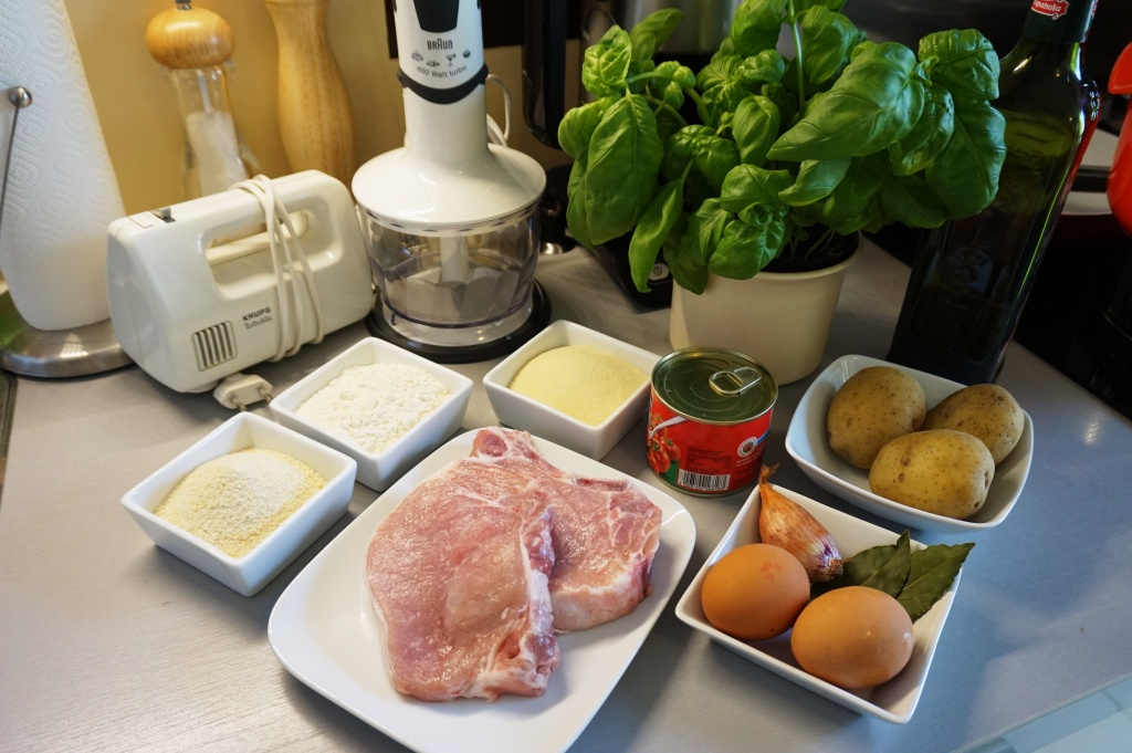 Gnocchi Basil ingredients
