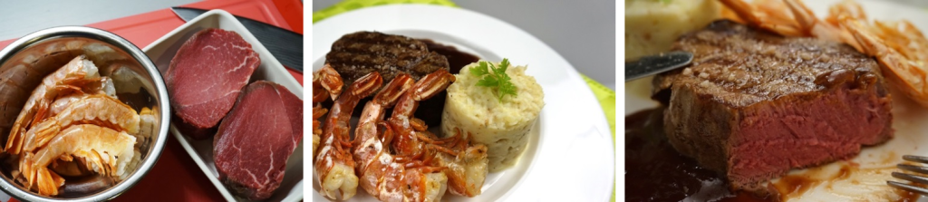 Surf Turf Trio
