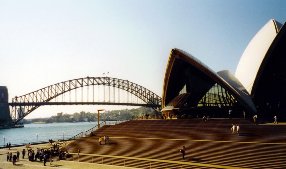 009 Opera House und Harbour Bridge