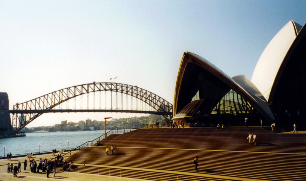 009 Opera House und Harbour Bridge