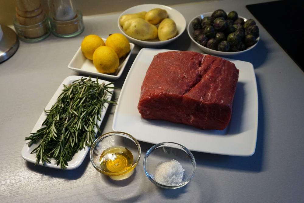 Roastbeef Zutaten