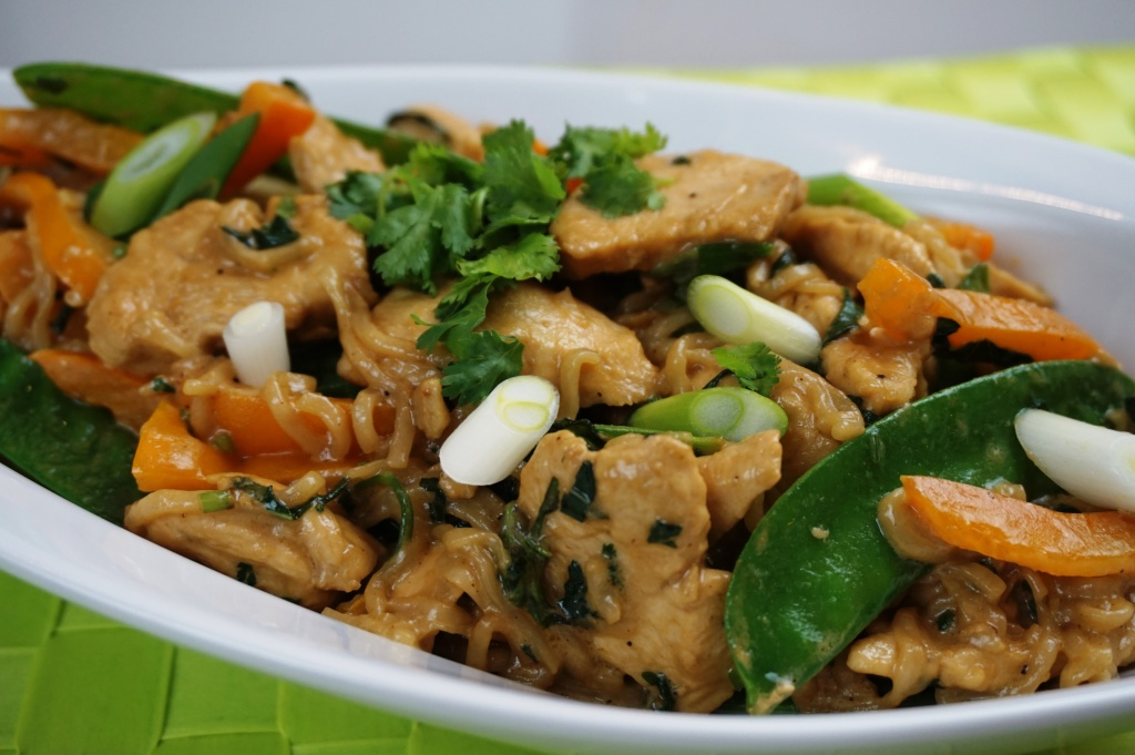 Chicken with Sesame-coconut sauce