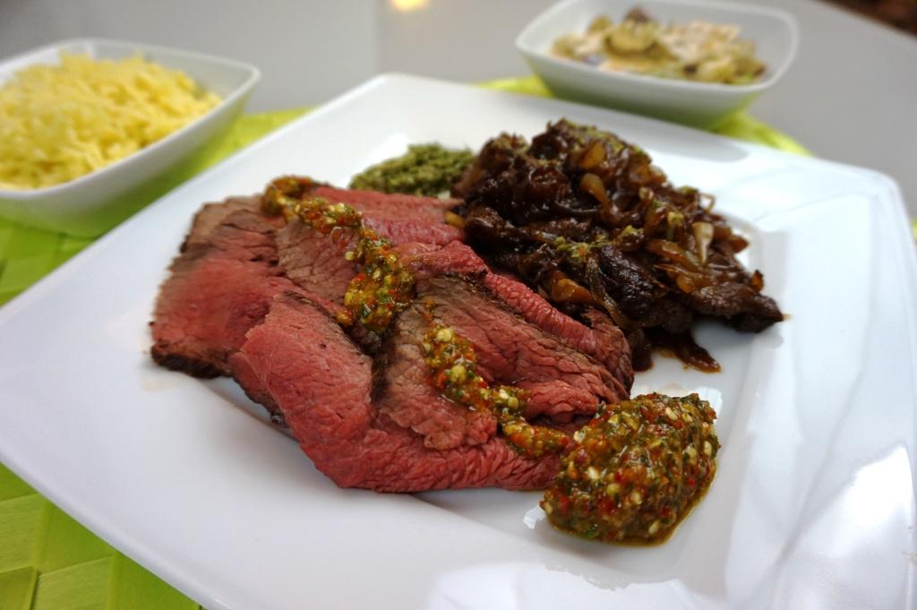 Rindfleisch mit Chilipaste