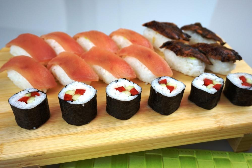 Geta Sushi Nigiri