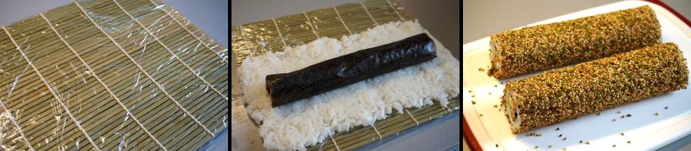 Uramaki outer roll