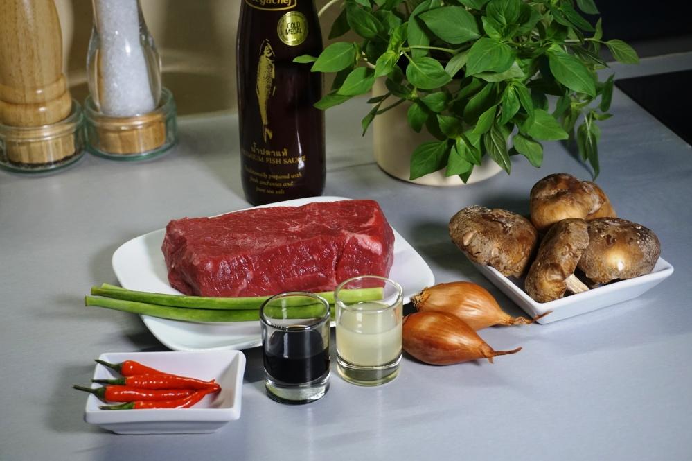Rindfleischsalat Zutaten