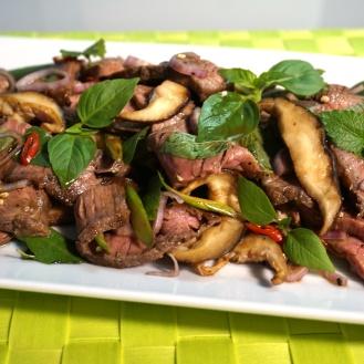 Thai-Rindfleischsalat