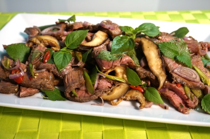 Rindfleischsalat mit Shiitake