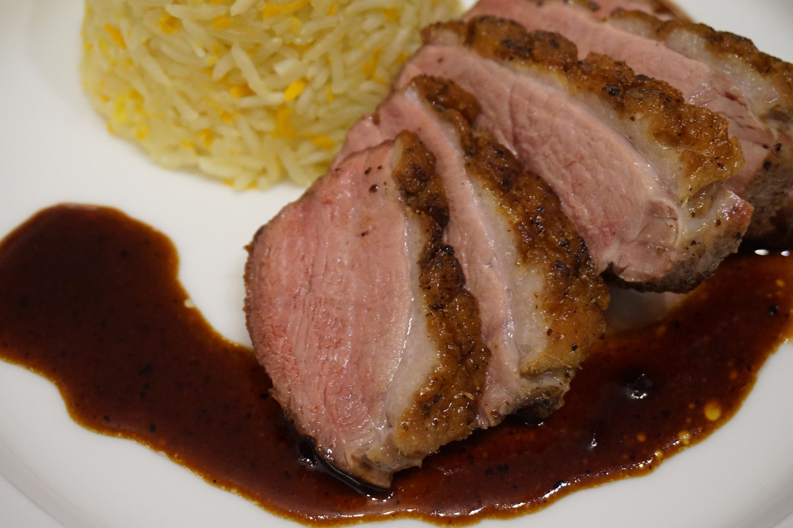 Entenbrust Spezialsoße Ducks Breast Special Sauce Michasfoodblog