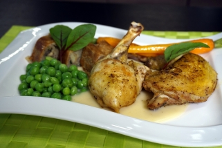 Guinea Fowl breast and drumstick