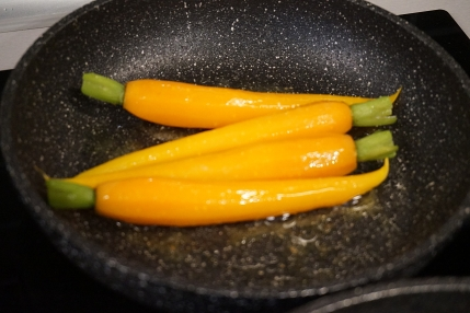 Möhren karamelisiert